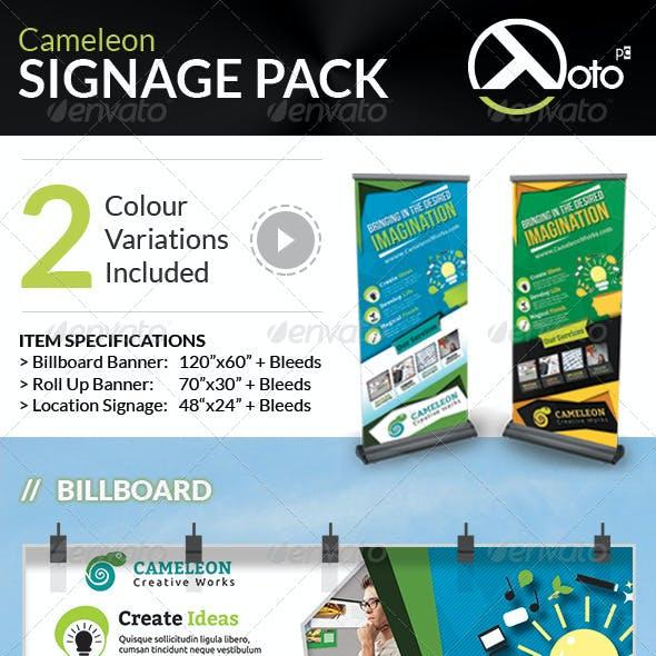 Cameleon Works Signage Bundle Pack