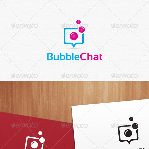 Bubble Chat Logo Templates