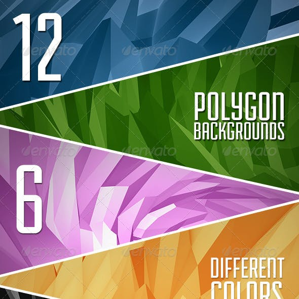 Abstract Polygon Backgrounds Vol.2