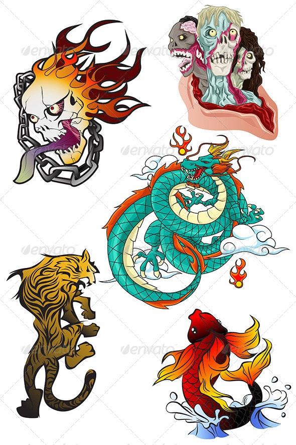 Tattoo Designs - Tattoos Vectors