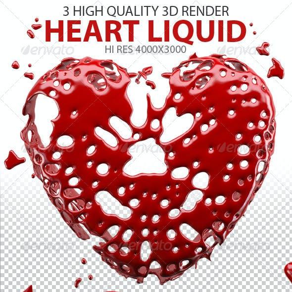 Heart Splash Liquid