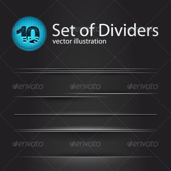 Vector divider set