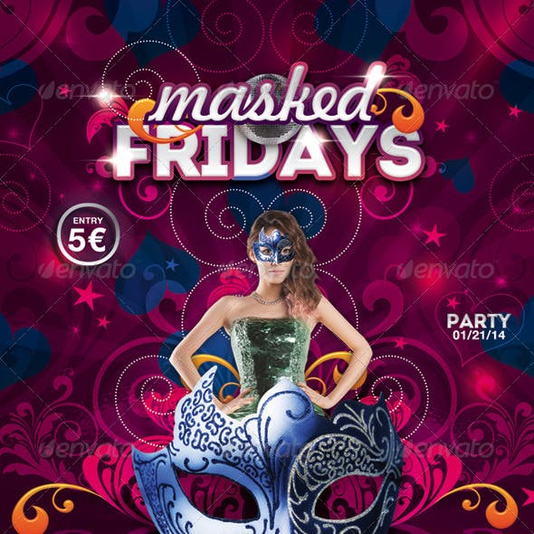 Masked Fridays Party