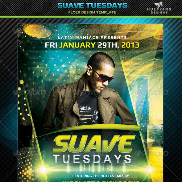 Suave Tuesdays Flyer