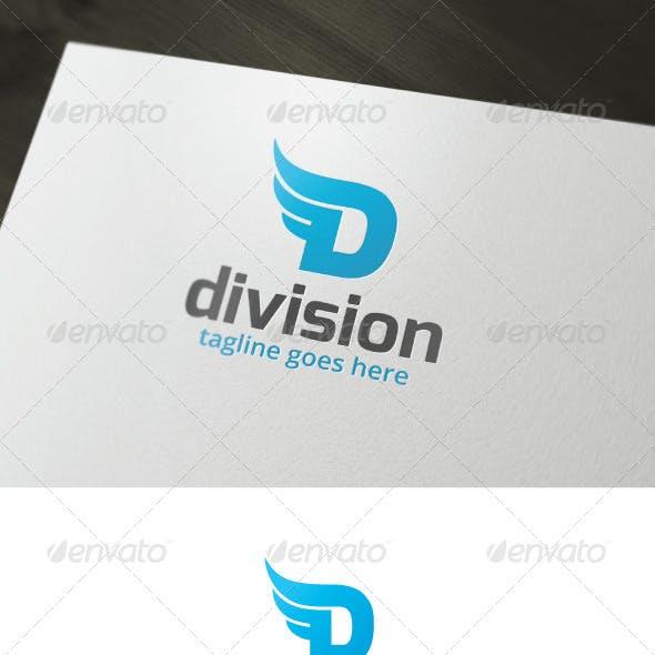 Division Logo — Letter D