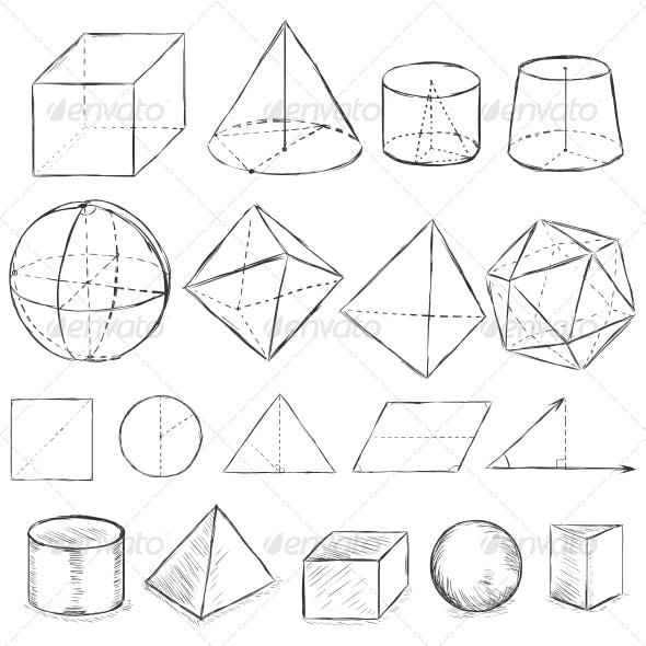 Sketch Geometric Shapes
