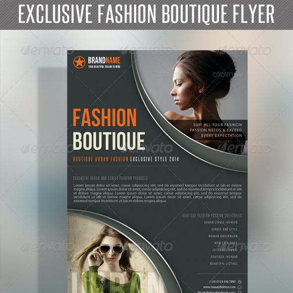 Fashion Product Flyer 32