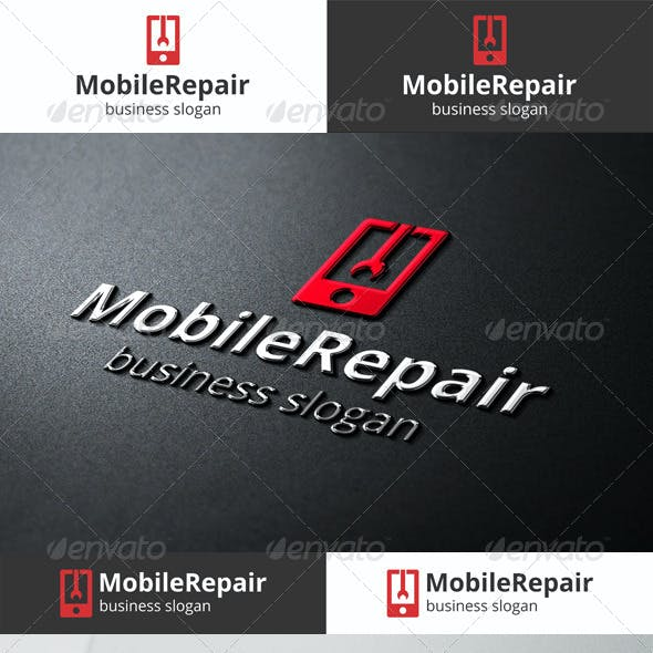 Mobile Repair Logo Template