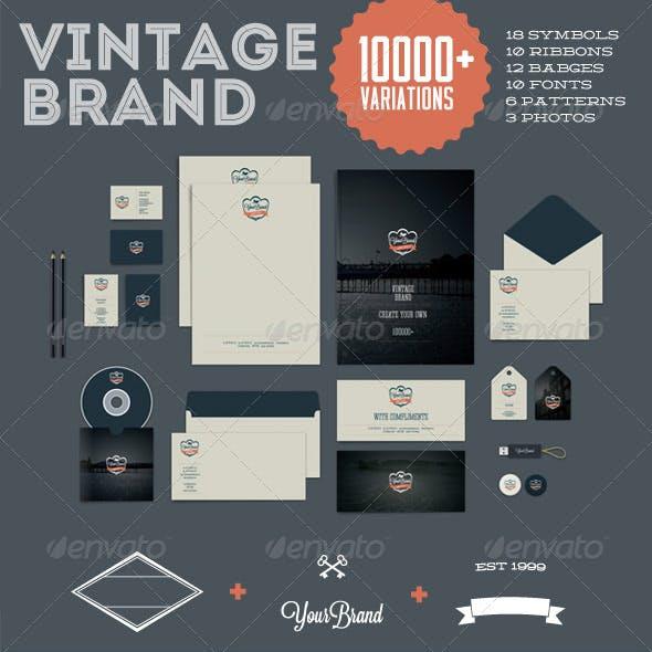 Vintage Brand 10000+