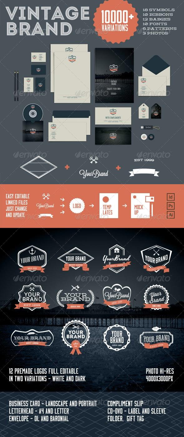 Vintage Brand 10000+ - Stationery Print Templates