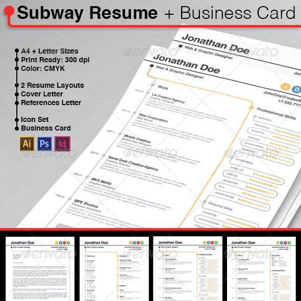 Subway Resume