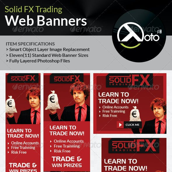 Solid FX  Trading Web Banners