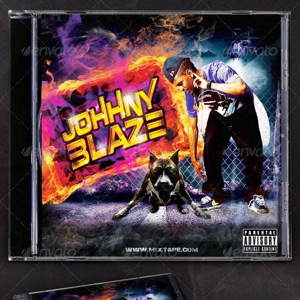 Hip Hop Blaze Mixtape/CD Cover