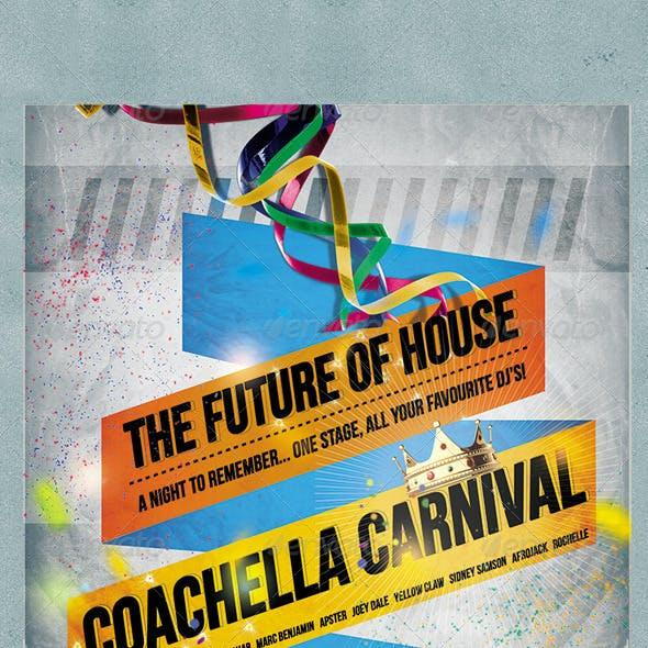 EDM Carnival Flyer