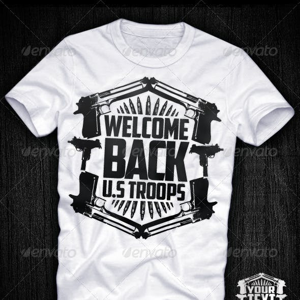 Customisable T-shirt Designs from GraphicRiver