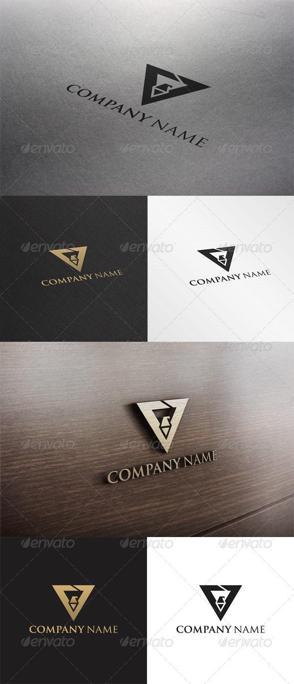 """V"" Letter Logo - Letters Logo Templates"