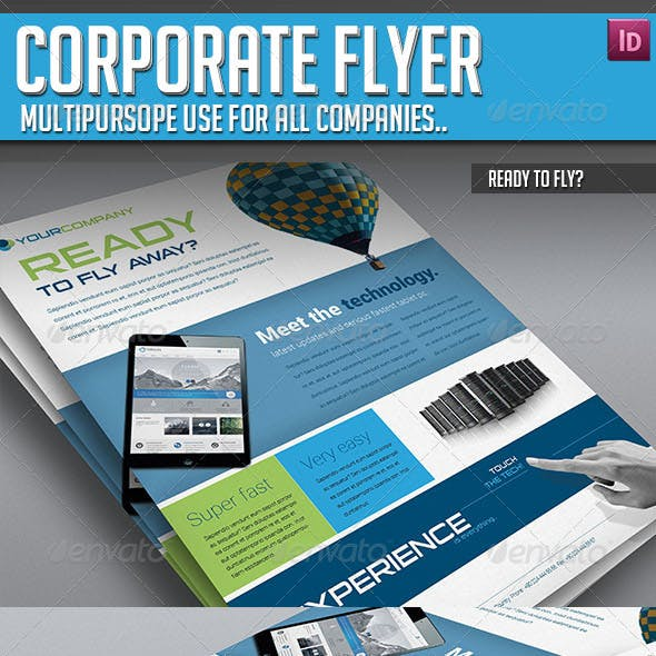 Corporate Flyer - Ready to Fly?