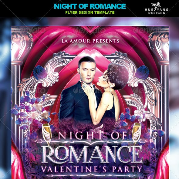Night Of Romance Flyer
