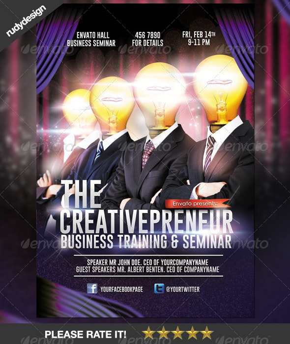 Creative Professional Business Flyer Design - Corporate Flyers