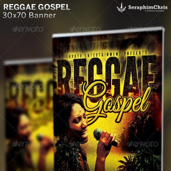 Reggae Gospel Concert: Banner Template