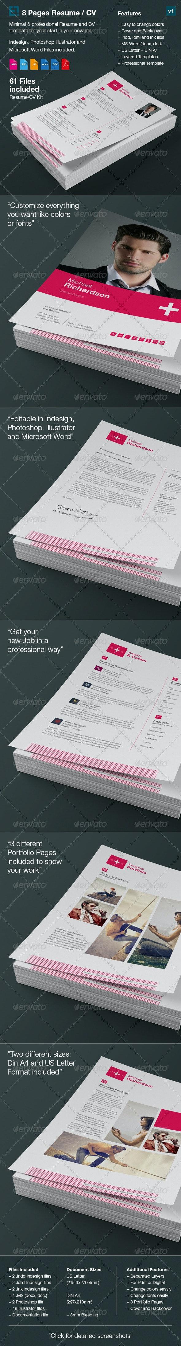Swiss Resume/CV - Resumes Stationery