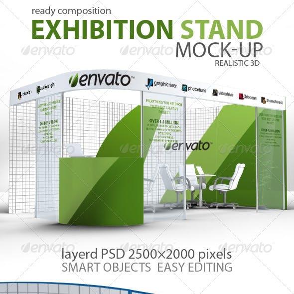 Exhibition Stand mock-up