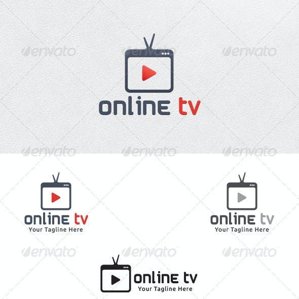 Online TV - Logo Template