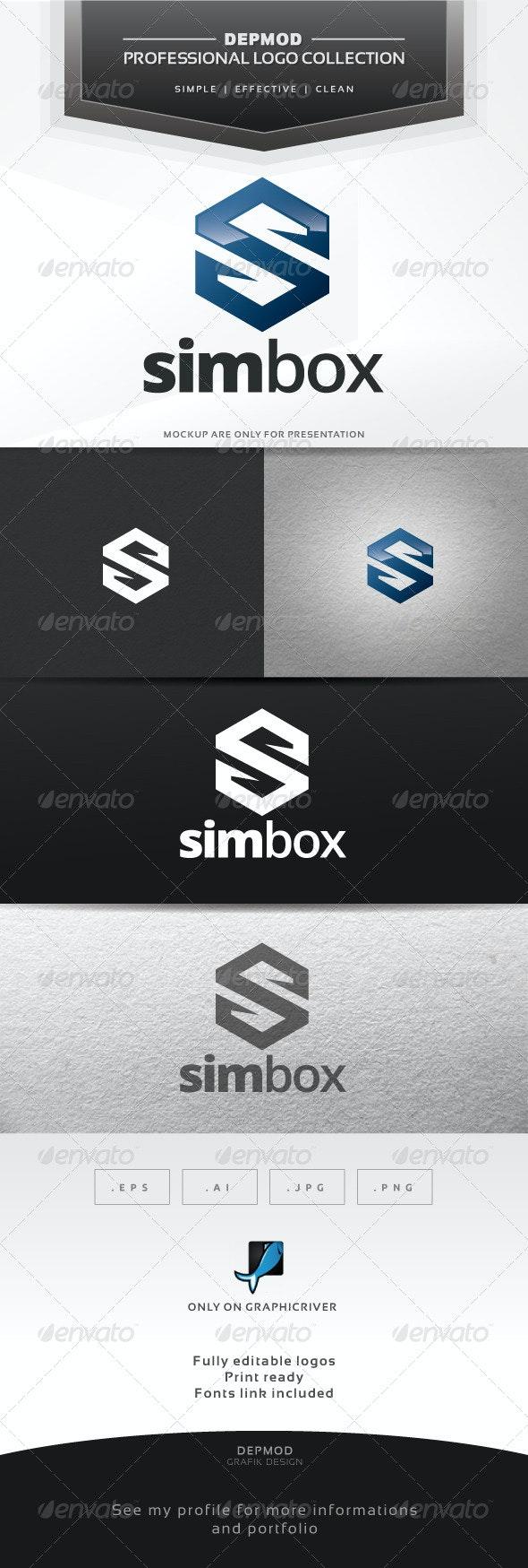 Sim Box Logo - Letters Logo Templates