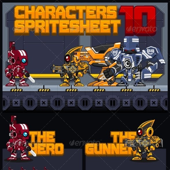 Characters Spritesheet 10