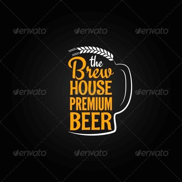 Beer Design Background