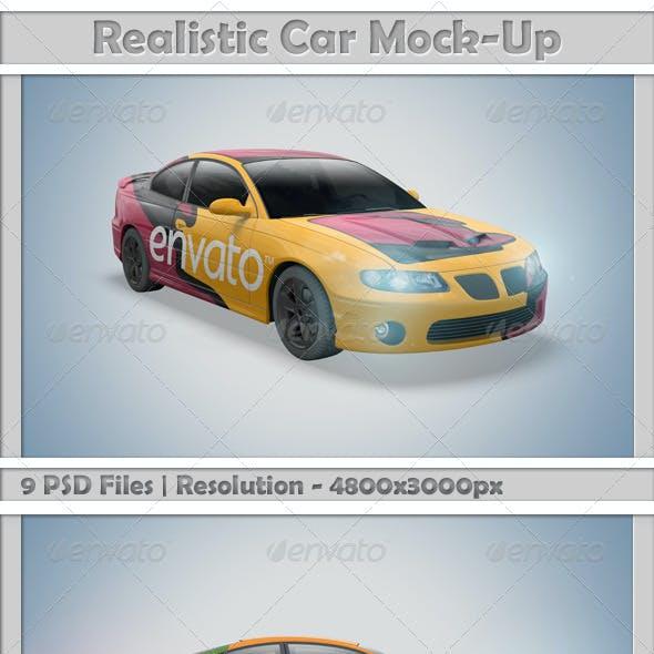 Car Mock-Ups