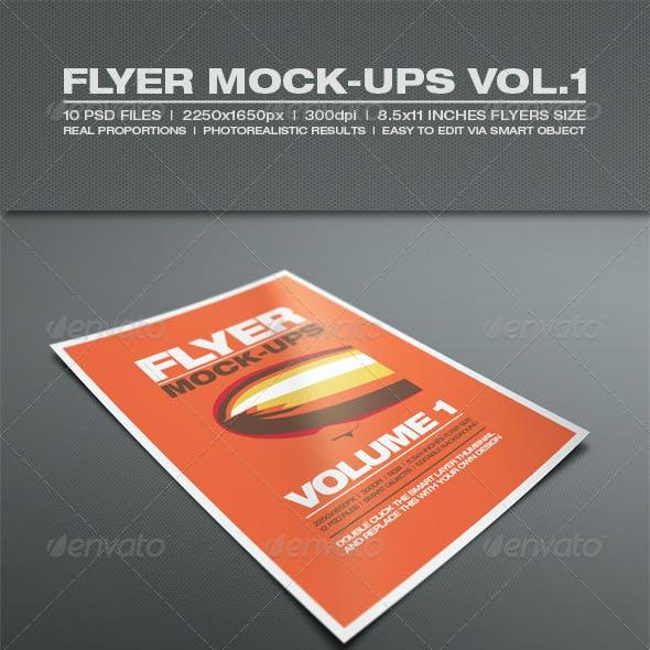 Flyer Mock-up Vol.1