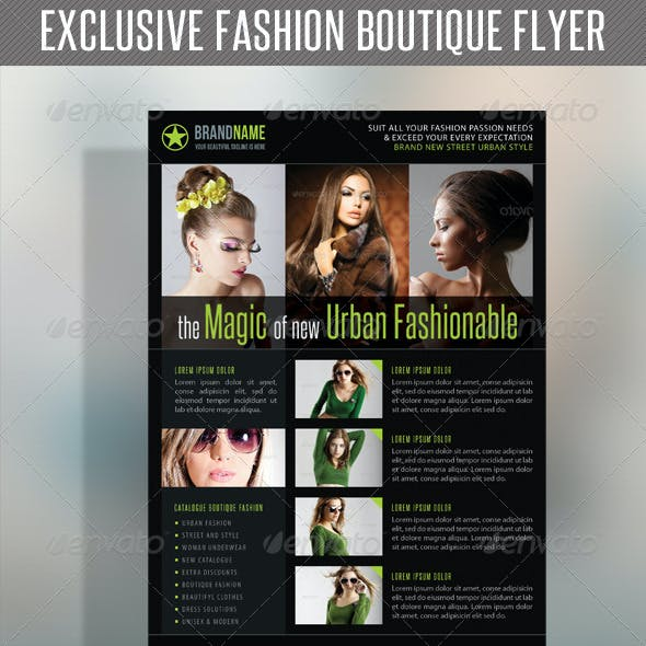 Fashion Product Flyer 33