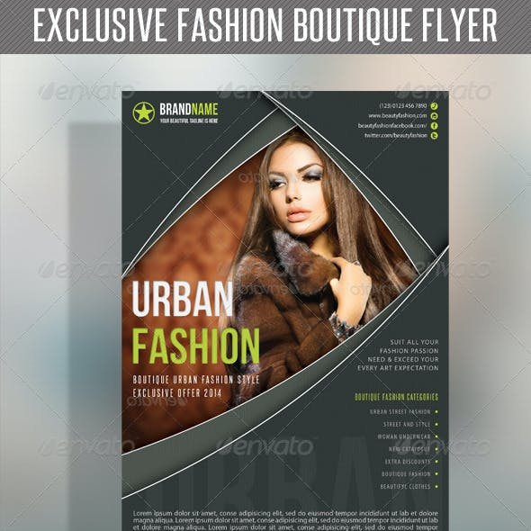 Fashion Product Flyer 34