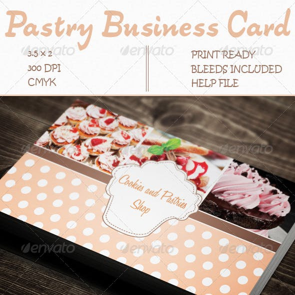 Pastry Business Card