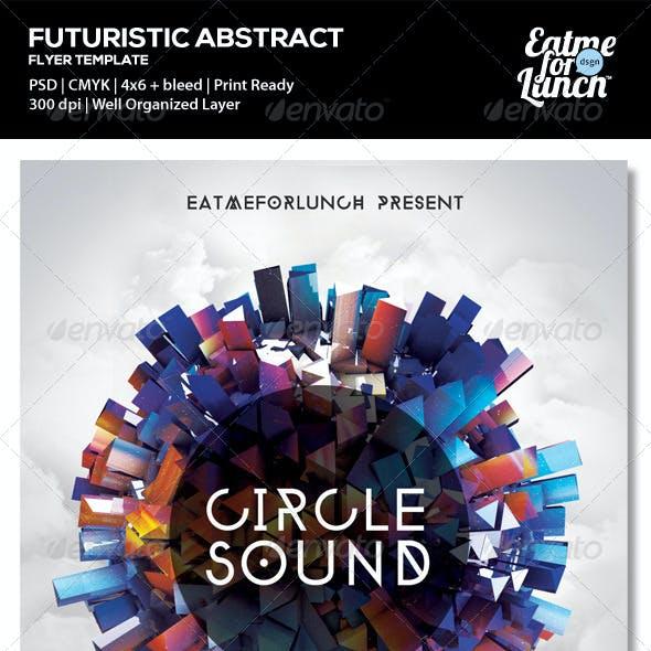 Futuristic Electronic/Dance/Club Flyer Templates