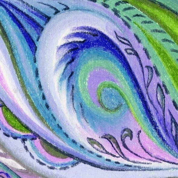 Abstract Pastel Picture
