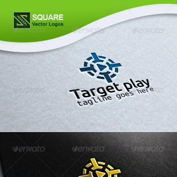 Target, Play Vector Logo Template