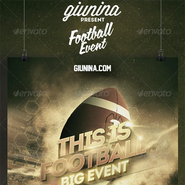 Football Event Flyer/Poster