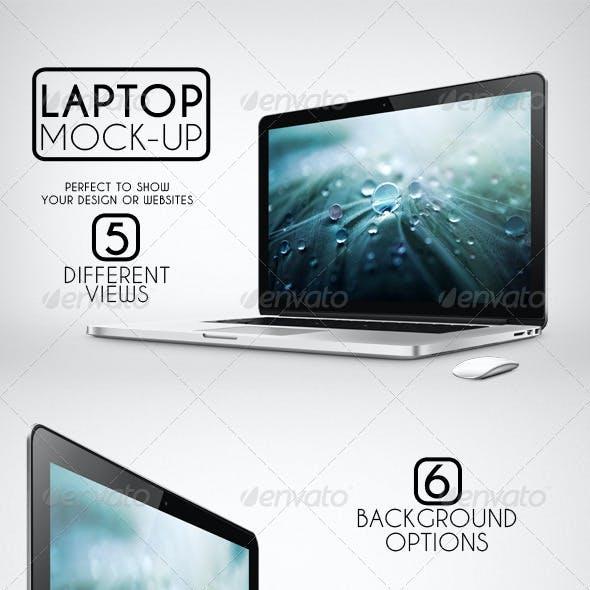 Laptop Mock-Up