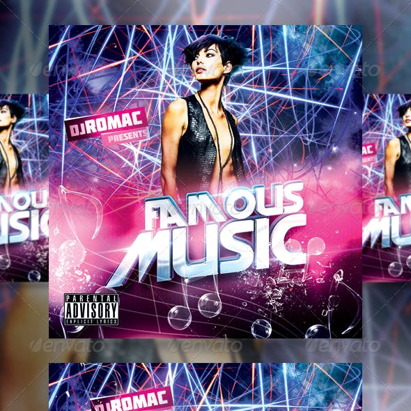 Famous Music CD Cover