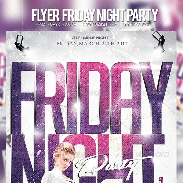 Flyer Friday Night Party