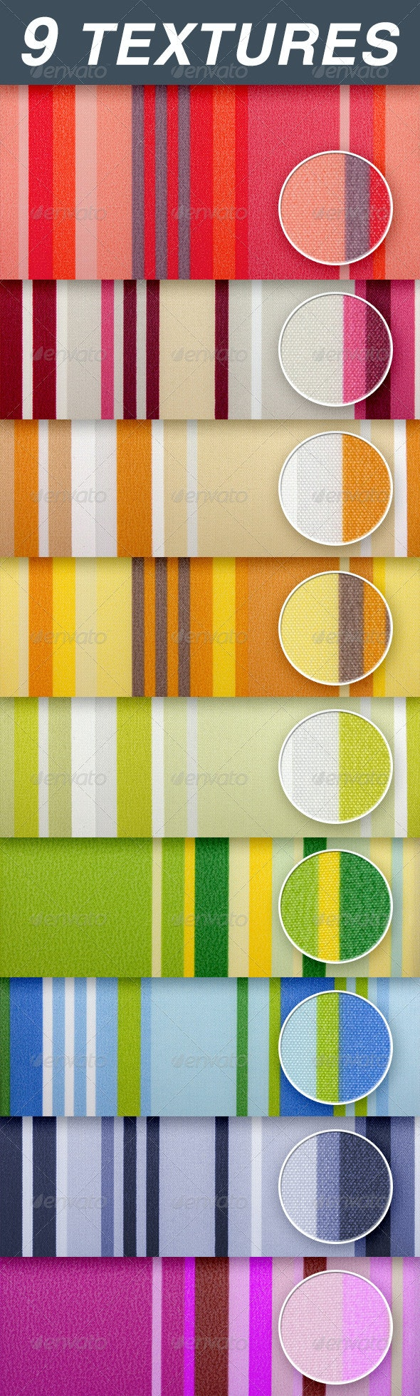 striped fabric - Fabric Textures