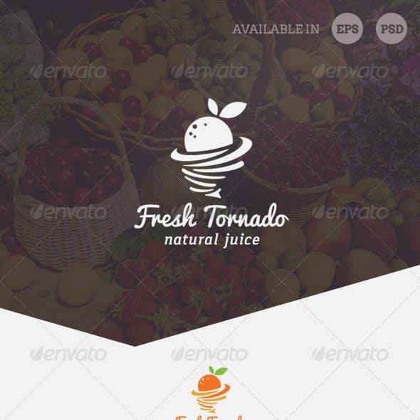 Fresh Tornado Logo Template