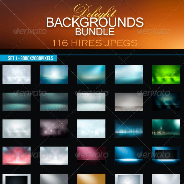 Delight Backgrounds Bundle
