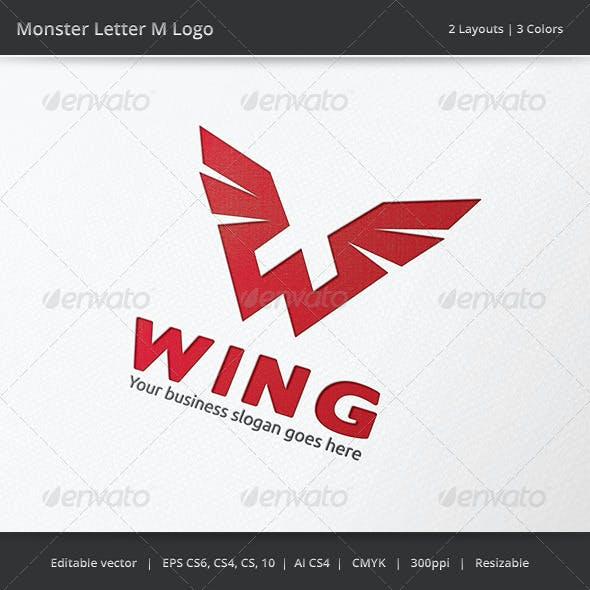 Wing W Letter Logo
