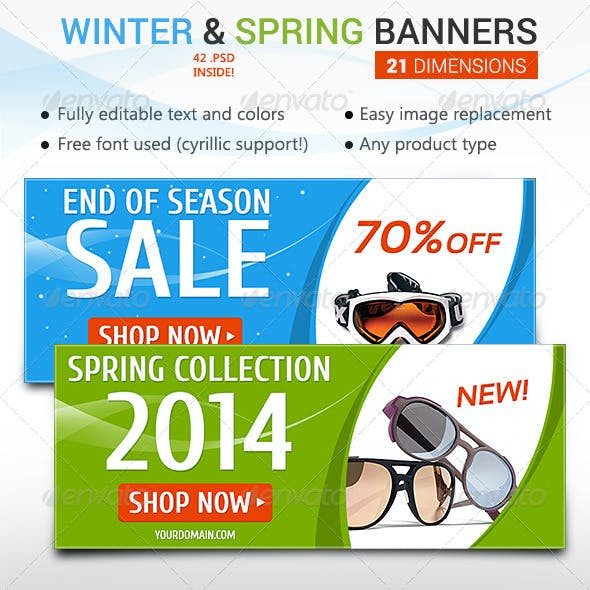 Winter Sale & Spring New Collection