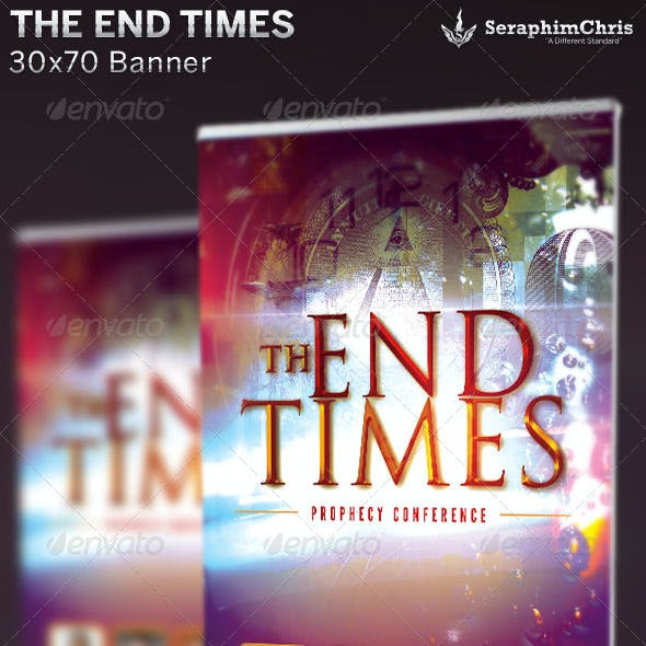 The End Times: Banner Template