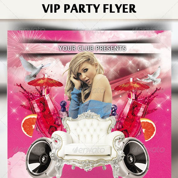 VIP / Royal Party Flyer