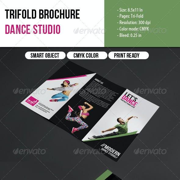 Trifold Brochure-Dance Studio